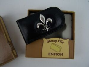 Enmon Accessories Collegiate Fleur De Lis Money Clip New In Box
