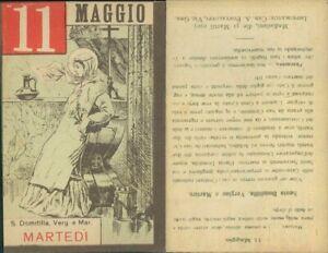 SANTA DOMITILLA,VERGINE-ASSOLUTA R@RIT@' SANTINO DI MARTEDI 11  MAGGIO 1937
