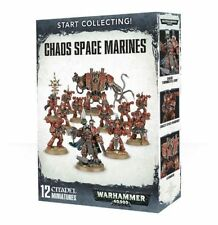 Warhammer 40k Chaos Space Marines Start Collecting! Games Workshop NEW