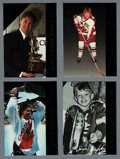 1992 Krown Promo Set Wayne Gretzky (4) - Green