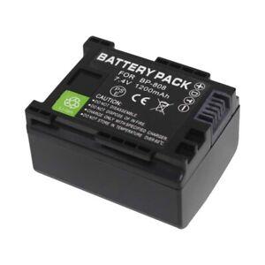 BP-808 BP808 BP 808 Camera Battery Pack for Canon FS22 FS21 FS200 FS11 FS10