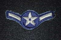 Korean War USAF Air Force Airman Enlisted Rank Insignia Patch E-2 Original Early