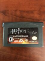 Nintendo Gameboy Advance Harry Potter And The Goblet Of Fire Game