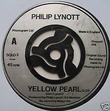 "PHILIP LYNOTT - Yellow Pearl - Excellent Con 7"" Single"