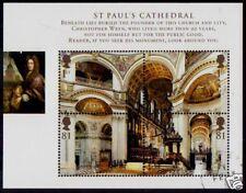 Gran Bretaña 2008 St. Pauls Miniatura Hoja Fine Used