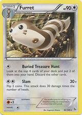 4x Pokemon XY Flashfire Furret 82/106 Rare Card