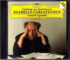 Anatol UGORSKI: BEETHOVEN Diabelli Variations Op.120 CD 1992 Anton Variationen
