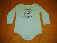 NEW NFL PHILADELPHIA FIRST EAGLES SHIRT INFANT GIRLS BOYS 24 MONTH GREEN COTTON