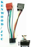 KENWOOD / 16 PIN ISO Baum Adapter Kabel 3544W , 3544WY , 4031