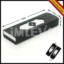 Mechero USB Recargable en PC Mecheros Eléctricos Fuego Sin GAS Anti viento