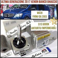 2 Lampadine XENON D1S MERCEDES VITO W639 CDI Viano 2003> BIXEN 6000K RICAMBI Luc