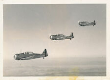 31938 3 ship echelon of North American AT-6A's Texan airplanes 5 x7 Photo