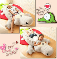 Hot Giant big Crocodile Pillow Plush Stuffed Stuffed Animals Toys Soft Doll Gift