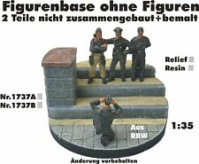 Diorama Nr.1737B Figurenbase ohne Figuren 1:35 Resin