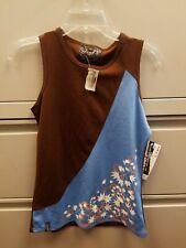 Sombrio Flight Women's Sleeveless Jersey Mocha/Blue  Size Large