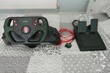 Jaguar Racing Compact Racing Steering Wheel & Pedals Playstation 1 + 2 PS1 PS2