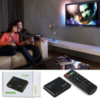 Mini Full HD 1080P Media Box USB Media Player With HDMI/AV/SD/MMC MKV AVI