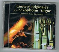♫ J-P. RORIVE & E. MAIRLOT - OEUVRES ORIGINALES POUR SAXOPHONE & ORGUE - NEUF ♫