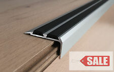 PROMOTION !!! Aluminium Stair Nosing Edge Trim Step Nose Edging Nosings Carpet