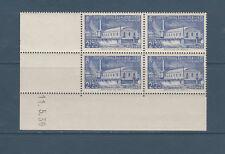 timbre France bloc de 4 coin daté  exposition de l' eau a Liège  num: 430  **