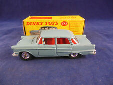 Dinky toys 177 Opel Kapitan saloon in Blue very near mint superb & original