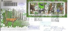 2014 Belarus. Wild animals Naliboki Pushcha FDC Int. Registered mail