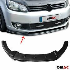 Stoßstange Frontlippe Frontschutz Spoiler für VW Caddy 2010-2015 Schwarz ABS