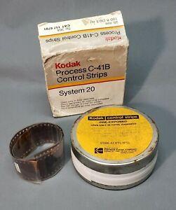 Kodak C41 Control Strips Sealed, Unopened FROZEN 35mm x 100 feet