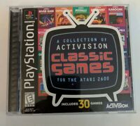Activision Classics (Sony PlayStation 1, 1998) PS1 - Tested - FREE SHIPPING