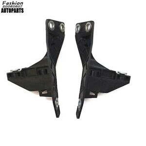 Left+Right Bumper Cover Support Mount Holders Retainer Fit For Audi A4 S4 B7 RS4