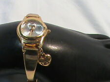 Ladies Gold Tone Bracelet Watch Small face