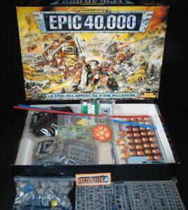 Warhammer Epic 40 000 / épic 40K / Citadel 1997 Games Workshop / Français!