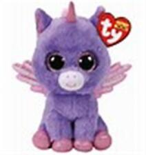TY BEANIE BOO ATHENA THE PURPLE PEGASUS CLAIRE'S EXCL. MWMT  6 INCHES GORGEOUS