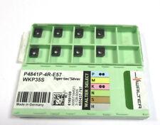 8 Wendeplatten inserts P4841P 4R E57 WKP35S von Walter Neu H17827