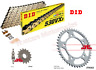 DID Gold X-Ring Chain and JT Sprockets Kit Set For Honda CBF1000 (2006 to 2010)
