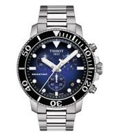 Authentic Tissot Seastar 1000 Chrono Stainless Steel Men's Watch T1204171104101