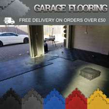 Garage Floor Interlocking Vinyl PVC Tiles Heavy Duty Industrial Flooring
