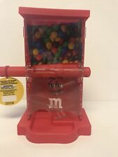 M&M's World Zig Zag Red Candy Dispenser New with Tags