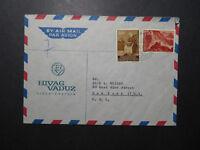Liechtenstein 1966 Airmail Cover to USA - Z11836