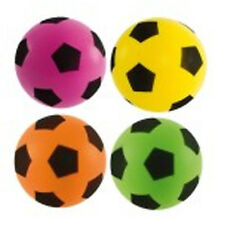 Sponge Foam Football 17.5cm Assorted Colour Ball 3b6ce2861e056