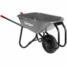 Corona EasyLifter 6 Cubic Foot Heavy Duty All Steel Wheel Barrow Flat Free Tire