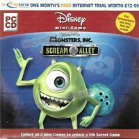 VINTAGE INTERNET: AOL CD ROM (MONSTERS INC PROMO) - FAST WITH FREE P&P