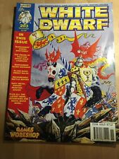 White Dwarf 203 - Nov 1996 - Space Hulk, Warhammer, 40k With Card Pages