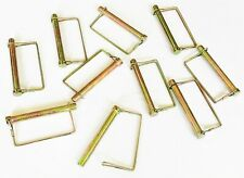 """10 GOLIATH EXTRA LONG 1/2"""" X 4-1/2"""" SQUARE CANOPY PTO TRAILER HITCH PINS LCPTC12"""
