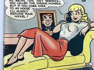 Archie Comics #50 Archie May 1951 Classic Bob Montana Betty Headlights Cover!