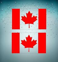 Sticker adesivi adesivo tuning auto moto bandiera bandiere canada canadese