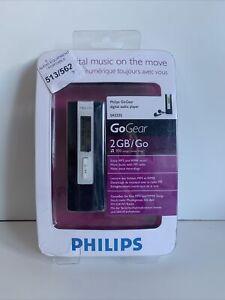 philips gogear 2gb MP3 Player SA2225 NEW & SEALED Rare (275)