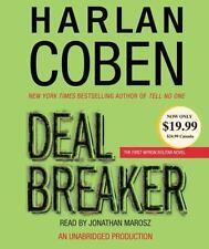 Myron Bolitar: Deal Breaker No. 1 by Harlan Coben (2006, CD, Unabridged)  (4766)