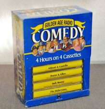 Golden Age Radio Comedy 4 Cassettes/4 Hours Factory Sealed