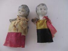 Vintage Grey Bisque Miniature Dolls Japan